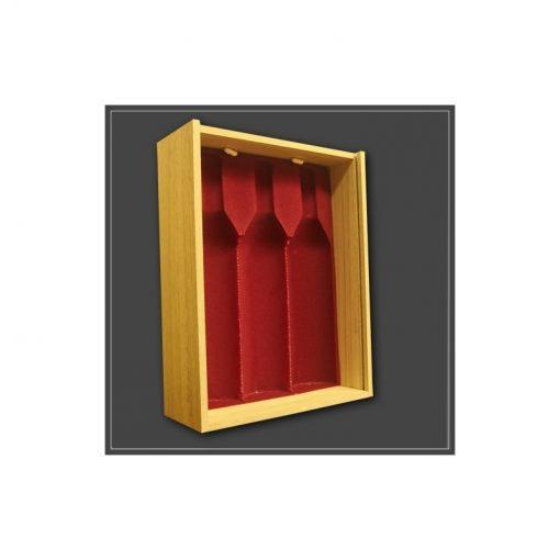 Caisse bois pour 3 bouteilles