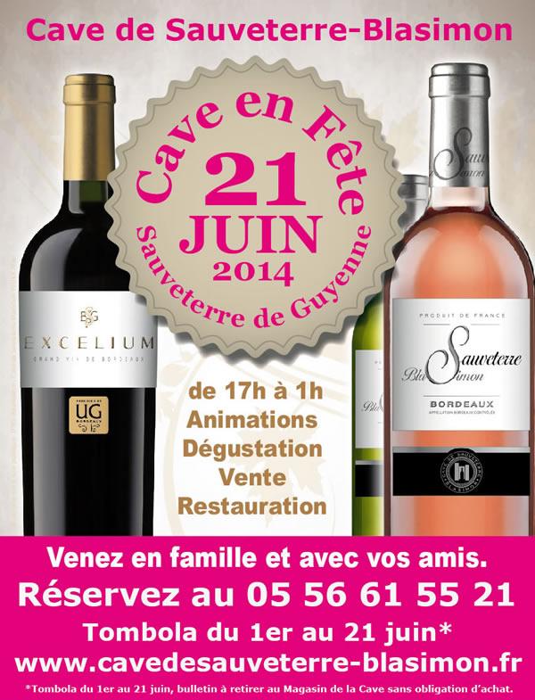 Cave en Fête 21 Juin 2014